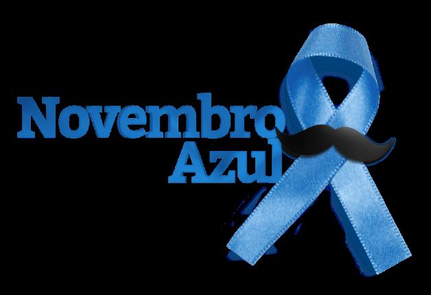Novembro Azul. Mês de Conscientização da saúde do homem.