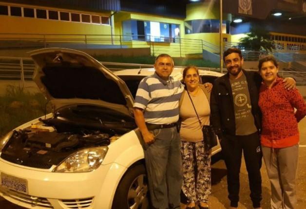 Sem seguro, família que teve carro roubado à mão armada recupera o veículo graças à PRF